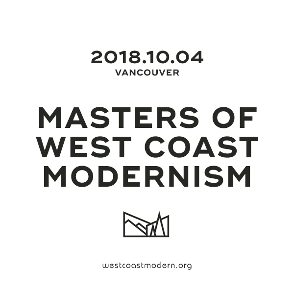 Masters of West Coast Modernism–2018.10.04
