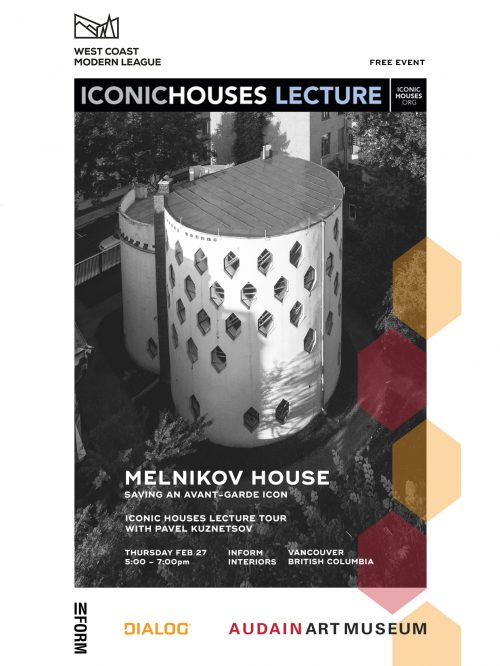 Melnikov House | Iconic Houses Lecture – 2020.02.27