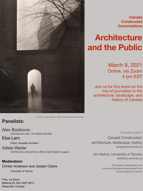 Architecture and the Public – 2021.03.09