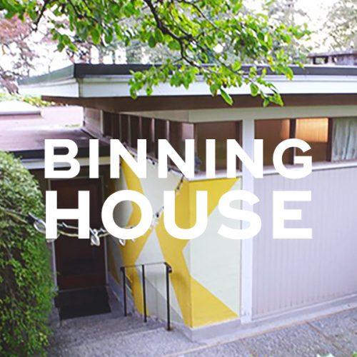 B.C. Binning House, 1941
