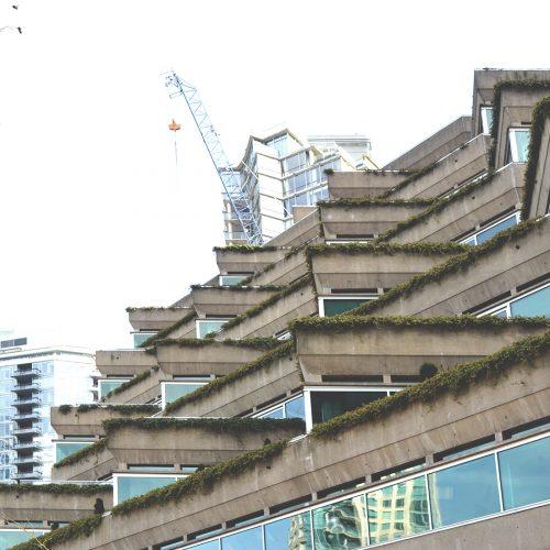 Evergreen Building, 1980