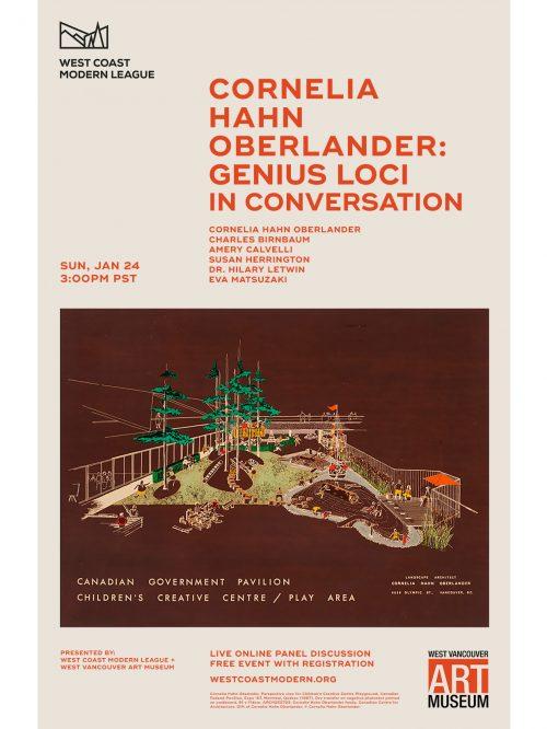 Cornelia Hahn Oberlander: Genius Loci   In Conversation – 2021.01.24