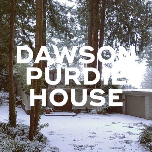 Dawson/ Purdie House, 1956-57