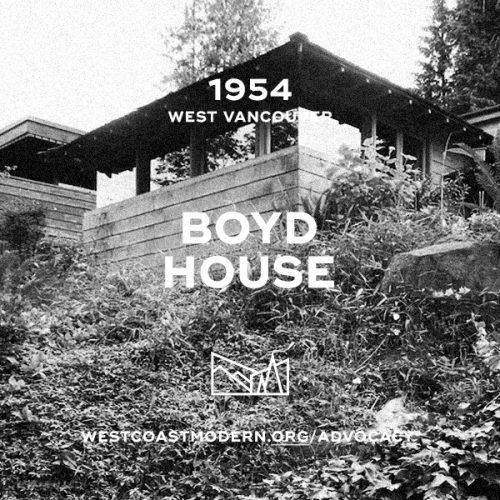 Boyd House, 1954