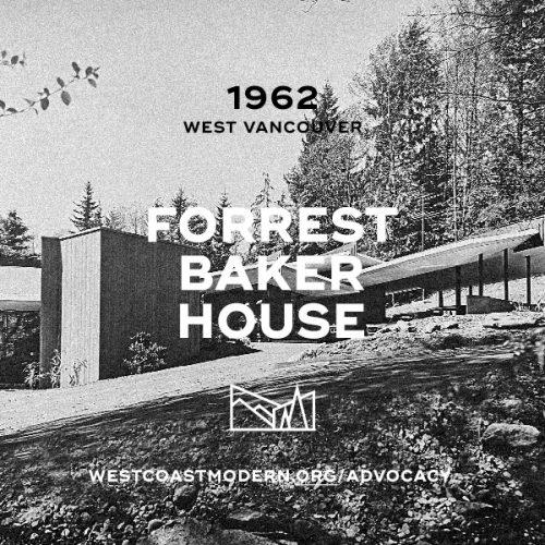 Forrest-Baker House, 1962