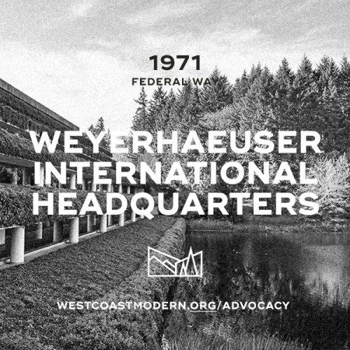 Weyerhaeuser International Headquarters, 1972
